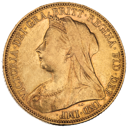 Sovereign Victoria Gold 2. Wahl | 1893-1901