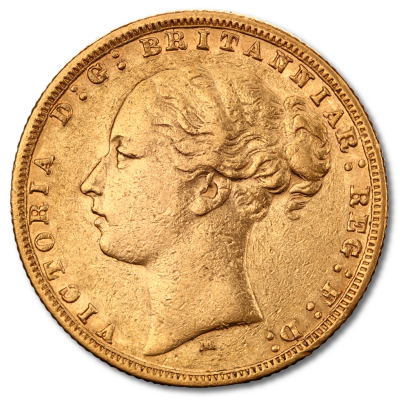 Queen Victoria Young Head Gold Sovereign (1838-1887)