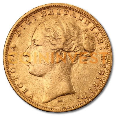 Queen Victoria Young Head Gold Sovereign 1838 1887