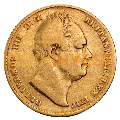 Soberano William IV | Oro | 1830-1837