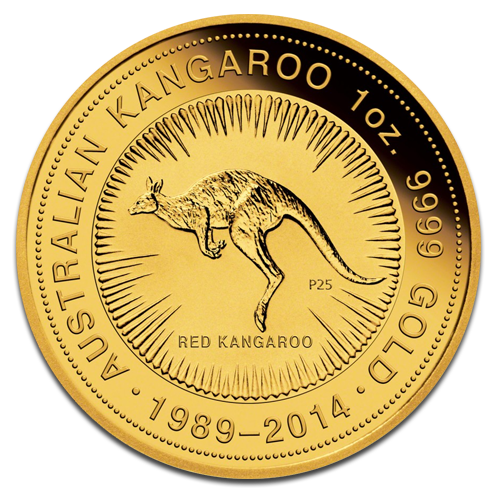 1 oz Special Edition 25 Years Kangaroo | Gold | 2013